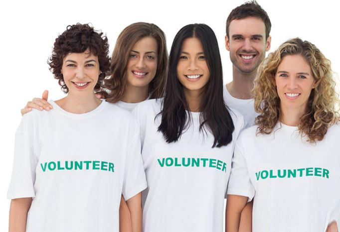 Become A Proud Volunteer